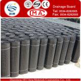 Placa de drenagem de grau de futebol e subterrâneo ferroviário / folha de drenagem HDPE
