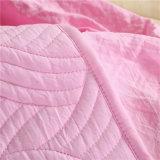يغسل [ميكروفيبر] درز لون قرنفل صلبة سرير فراش مدافعة تغطية