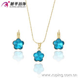 WomenのBest Gift 63175のためのXuping Fashion Highquality Graceful Crystal Jewelry Set