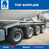 Titna 55cbm cisterna de cemento a granel tráiler con 3 ejes para la venta