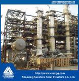 Costruzione prefabbricata petrochimica della struttura d'acciaio con la trave di acciaio
