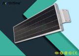ZonneStraatlantaarns alle-in-één met de Ingebouwde Sensor van de Motie van de Batterij van het Lithium