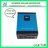 AC110V 1kw/2kw/3kw/3.5Kw/5KW inversor com MPPT Solar Híbrido/PWM Controlador Solar