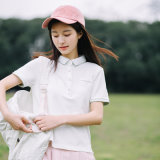 Cotton Lady Sports shirt Shirt Made in Clouded