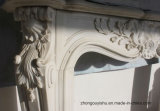 Fine 손 Carved Quality와 Simple Design T-7150를 가진 Sale Marble Fireplaces에