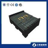Faltender Ladeplatten-Behälter des Automobilgabelstapler-4-Way für Verkauf