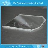 Brillant verre optique B270 fenêtre ovale pour l'instrument médical