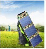 Cargador solar portuario doble del USB 14W para el teléfono móvil