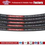 21 MPa-Funktions-Druck-haltbarer 1-1/4 '' 4sp hydraulischer Schlauch R9
