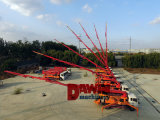 Máquina montada na bomba de concreto 27m 30m 33m 37m de comprimento da lança caminhão bomba de concreto