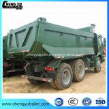 Vrachtwagen van de Kipper van de Stortplaats 3 30ton HOWO van de Dieselmotor 336HP van Sinotruk de Euro