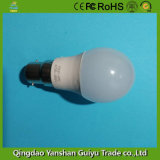 5W Bombilla LED con base B22, CE, FCC certificados RoHS