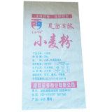 Sac en plastique réutilisé 50kg de farine de blé de soja de maïs de riz