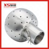 Bal van 360 van de Graad CIP van het roestvrij staal de Hygiënische Statische Schoonmakende Einden van de Bout