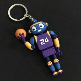 Customized 3D Rubber Key Chain