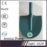 Pala rivestita in polvere blu o nera di stile francese del acciaio al carbonio della costruzione S527 S529