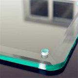 ラウンド・コーナが付いている5mmの明確な緩和されたガラス