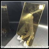 4mm Decorative Pattern Glass с 24k Golden Color
