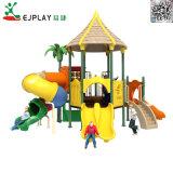Carácter popular série, equipamento de parques infantis exterior de forma colorida para jardim