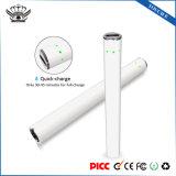 Appuyez sur E 280mAh Charge rapide 510 Vape PEN E-cigarette de la batterie