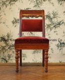 Sofa en bois de présidence de selles de meubles de type européen de salle de séjour