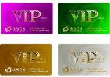 Cartão promocional e colorido de PVC Menbership