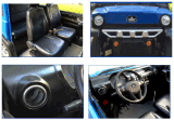 (REVOLUTION CARGO 1500) Furgoneta eléctrica de 48V DC, Mini Buggy con 2 Asientos