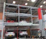 Système automatisé de structure de stationnement de véhicule de matériel de puzzle