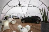 8m 직경 백색 알루미늄 돔 닫집 실루엣 천막