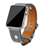 Goede Kwaliteit 22mm van het Ontwerp van de manier Riem van het Horloge van de Appel van het Leer van de Breedte de Echte