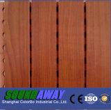 Painel acústico Grooved de madeira Soundproof