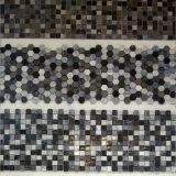 Pleine mosaïque de pierre de corps de la technologie la plus neuve