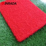 La mejor hierba artificial del sintético de Golf&Field 25stitches del color rojo del césped