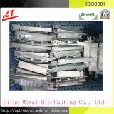 Abgeglichene Aluminiumlegierung Druckguss-Kühler-Luft-Umlenkblech-Wind-Vorstand