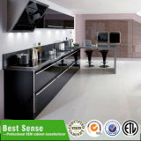 Gabinete de cozinha de Laquer (opção: MDF, MFC, madeira compensada, PVC enfrentado, melamina, acrílico, etc. UV)