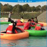 Вода из волокнита лодки Powred от батареи 12V 33AH для 1-2 детей с FRP органа и тент из ПВХ трубы