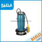 Bomba de agua sumergible 1.1kw de la cubierta de aluminio del alambre de cobre