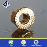 Prateleira de flange DIN9223 com zinco