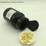 ペット黒い175mlカプセルはプラスチック薬剤フリップ上の帽子のビタミンの包装をびん詰めにする