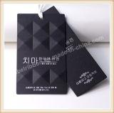 衣類のための衣服の品質表示票デザイン習慣によって印刷されるペーパー品質表示票