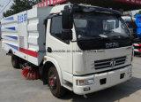 6 camion di pulizia della pavimentazione del camion 6cbm della spazzatrice di via delle rotelle