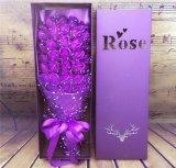Fábrica que grava a flor do carimbo de ouro de Debossing/caixa de presente de empacotamento projetadas especiais