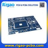 Placa de PCB DVR com máscara de solda azul