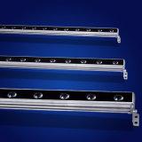 Im Freien linearer LED-Wand-Unterlegscheibe-Stab IP65 für Gebäude-Beleuchtung-Fassade