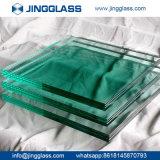 Vidro laminado temperado e curvado de segurança transparente colorido para janela e porta