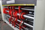 Slotter 골판지 4 색깔 Flexo 고속 인쇄공은 절단기 기계를 정지한다