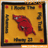 Custom Wholesale Iron on Broder Patch pour vêtement (YB-pH-70)