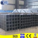 Tubo cuadrado de acero al carbono 100X100mm para material de construcción metálico