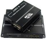 DVI Extender cours de fibre optique avec le support de transmission Km Aucune compression réel Uhd (2240)