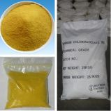 Cloruro del polialuminio del producto químico el 28% usado en el tratamiento de aguas